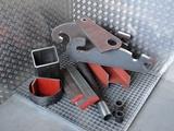 Minituur van Pijlmes - Voorzetmes  Profielmes - Adapterplaten - Kipperbodem - Slijt